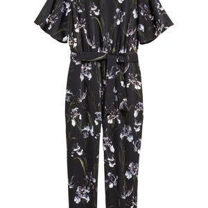 H&M Patterned Jumpsuit Size 2 New